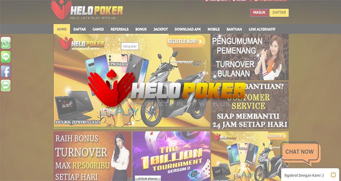 Helopoker – Situs Poker Online Terpopuler Indonesia Saat Ini